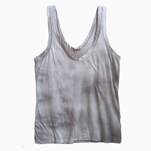 JAMES PERSE | GREY TIE DYE TANK TOP